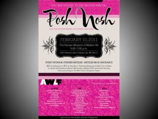 AWLF Posh Nosh 2011