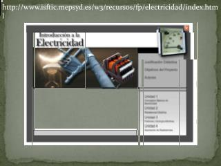 http://www.isftic.mepsyd.es/w3/recursos/fp/electricidad/index.html