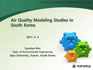 Air Quality Modeling Studies in South Korea