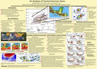 An Analysis of Central American Gyres