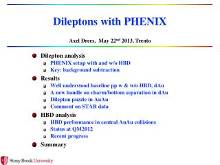Dileptons  with PHENIX