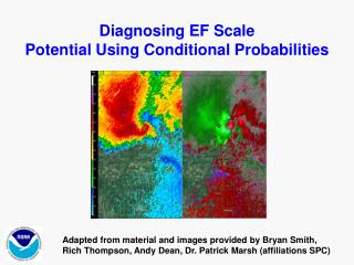 Diagnosing EF Scale  Potential Using Conditional Probabilities
