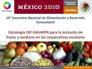 México D.F. 24 de noviembre de 2010