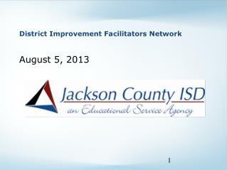 District Improvement Facilitators Network