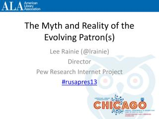 The Myth and Reality of the Evolving Patron(s)