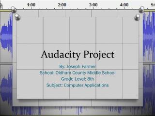 Audacity Project
