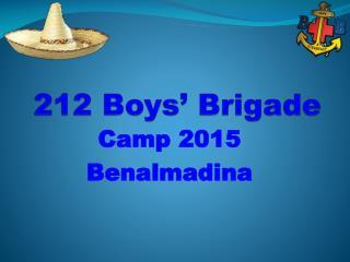 212 Boys' Brigade