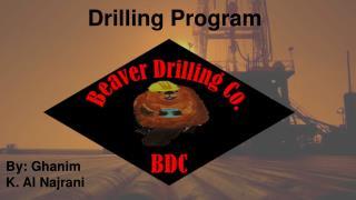 Drilling Program