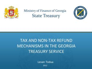 TAX AND NON-TAX REFUND MECHANISMS IN THE GEORGIA TREASURY SERVICE