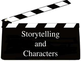 Storytelling  and  Characters