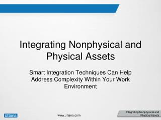 Integrating Nonphysical and Physical Assets