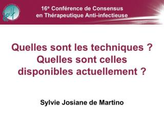 Sylvie J. De Martino Laboratoire associ  au CNR Borrelia Laboratoire de Bact riologie H pitaux Universitaires de Strasbo