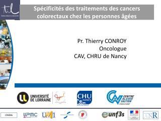 Spécificités des traitements des cancers colorectaux chez les personnes âgées
