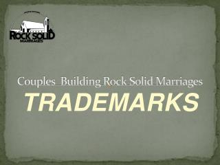 Couples  Building Rock Solid Marriages