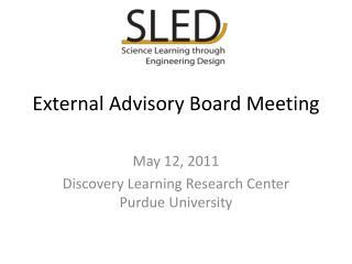 External Advisory Board Meeting