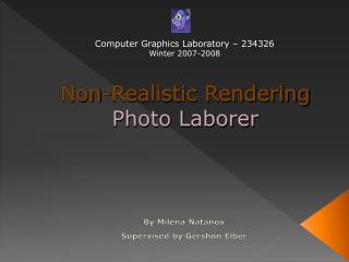 Non-Realistic Rendering Photo Laborer