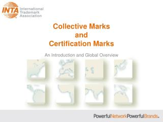 Collective Marks and Certification Marks