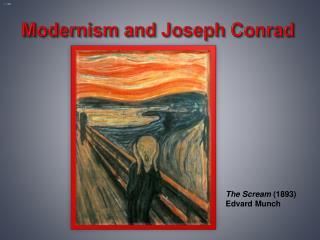 Modernism and Joseph Conrad