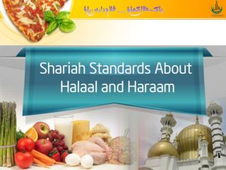 Four Basic Principles about Halaal & Haraam