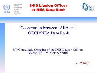 INIS Liasion Officer  at NEA Data Bank