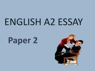English  A2 Essay