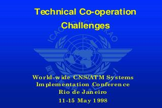 Technical Co-operation Challenges