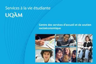 Centre  des services d'accueil et de soutien socioéconomique
