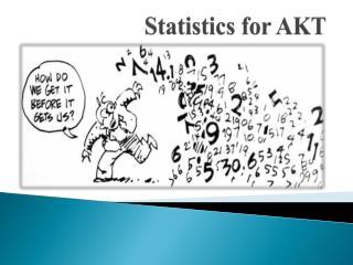 Statistics for AKT