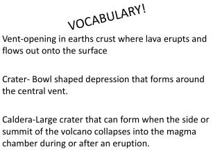 VOCABULARY!
