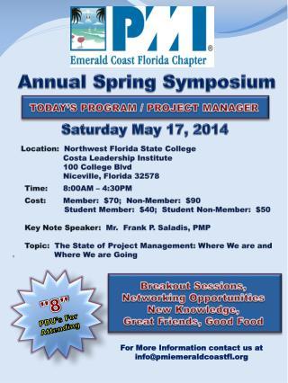 Annual Spring Symposium
