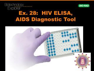 Ex.  28:   HIV ELISA, AIDS Diagnostic Tool