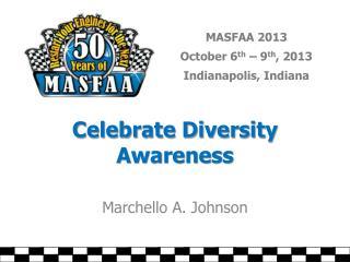 Celebrate Diversity Awareness