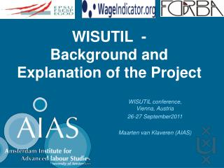 WISUTIL  -  Background and Explanation of the Project