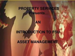 PROPERTY SERVICES Presents…