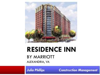 Residence Inn  by Marriott Alexandria,  Va