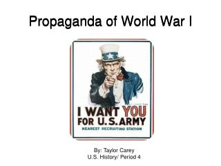 Propaganda of World War I