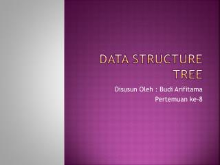 Data Structure Tree
