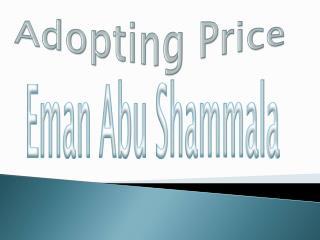 Adopting Price