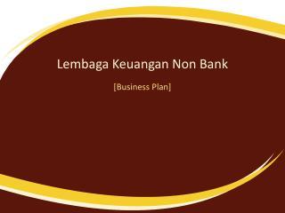 Lembaga Keuangan  Non Bank