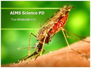 AIMS Science PD