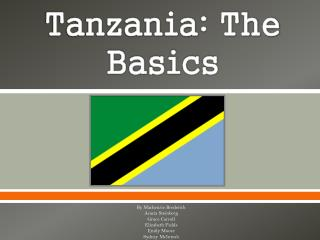 Tanzania: The Basics