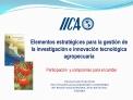 Francisco Javier Enciso Dur n IICA. Innovaci n para la productividad y competitividad 56 . Reuni n Anual del PCCMCA. 26