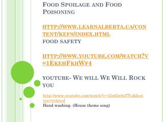 http:// www.youtube.com/watch?v=32x65e9zTYo&feature=related Hand washing-  (House theme song)