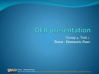 OER presentation