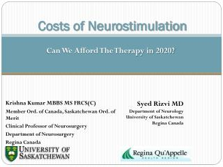 Costs of Neurostimulation