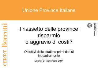 Unione Province Italiane