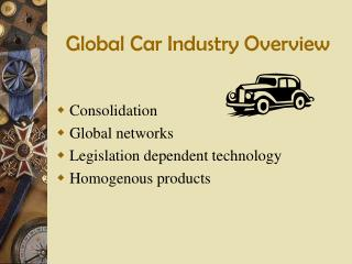 Global Car Industry Overview