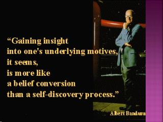 Albert Bandura  'The Social Learning Theory'