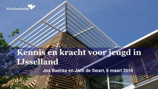Jos  Baecke  en Jack de Swart, 6 maart 2014