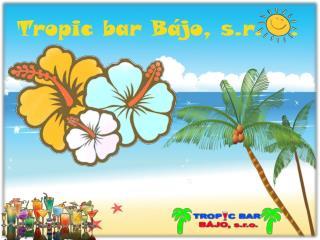 Tropic bar Bájo, s.r.   .
